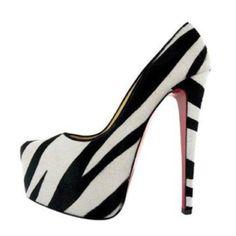 Sexy zebra heels
