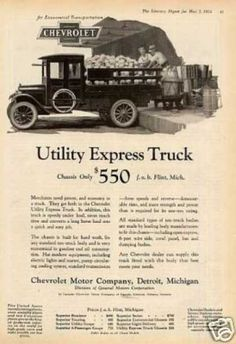 Chevrolet Utility Express Truck (1924)
