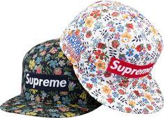 Supreme/Liberty Floral Box Logo New Era