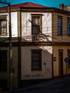 Balcón Deportivo. C° Alegre. Valparaíso Chile.