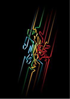 30 Typographies magnifiques et colorées - typographie
