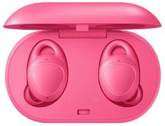 Samsung Gear IconX Edition) Cord-free Fitness Earbuds (US Version with Warranty) - Pink Image 5 of 9 Bluetooth, Wireless Headphones, Beats Headphones, Over Ear Headphones, Samsung Earphones, Retail Technology, Google Voice, Us Cellular, Pink Images