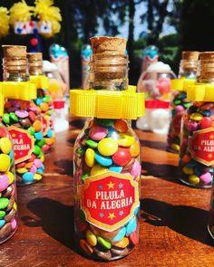 """""""Pílula da Alegria"""" #personalizados #festacirco"""