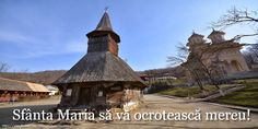 Sfânta Maria să vă ocrotească mereu! Cabin, House Styles, Home Decor, Room Decor, Cottage, Home Interior Design, Cabins, Decoration Home, Wooden Houses