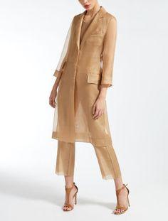 Moda Operandi and Max Mara Couture Fashion, Hijab Fashion, Runway Fashion, Fashion Dresses, Womens Fashion, Fashion Trends, Fashion Line, Love Fashion, Fashion Design