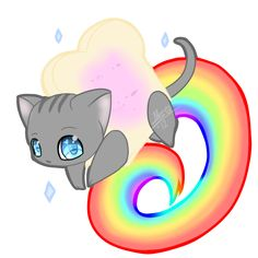 Dress up my Cat as Nyan cat and walk carry him around public places while playing the Nyan cat music