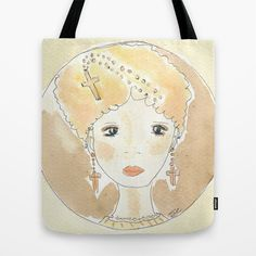 Believe to a thought Tote Bag by Donnedispirito - $22.00