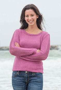 Ravelry: Eliana pattern by Tonia Barry. Knit in Cerro by Classic Elite Yarns.