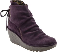 Fly London Yama Women's Boots (Sludge Suede)