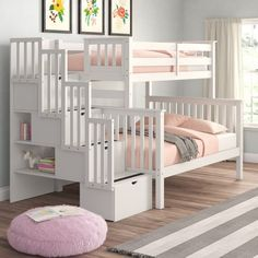 Bunk Beds With Drawers, Bunk Bed With Desk, Bunk Beds With Storage, Bunk Bed With Trundle, Full Bunk Beds, Bunk Beds With Stairs, Bed Storage, White Bunk Beds, Bunk Bed Plans
