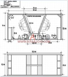 √ Skema Box Sub Alpha Nexo 12 Rumahan Speaker Plans, Sub Plans, Loudspeaker, Box Design, Audio, Floor Plans, How To Plan, Usb, Blue Prints