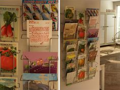 I would love a postcard display rack like this