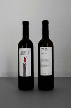 Wine Labels by Anna Trympali, via Behance