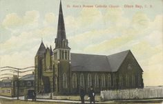 Tom MacDonald - Google+ - St. Ann's Roman Catholic Church-Glace Bay-Cape Breton-1908… Glace Bay, Bay Photo, Celtic Culture, Cape Breton, Roman Catholic, Nova Scotia, Island, Ancestry, Roots