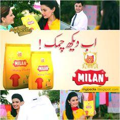 Milan Washing Powder TVC 2016 - Kiran Haq (Video)Posted on Monday, January 04, 2016 by Ambreen LatifMilan Washing Powder TVC 2016 - Kiran Haq (Video)