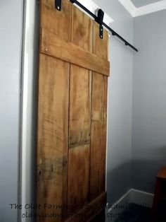 The Olde Farmhouse on Windmill Hill: DIY Barn Door Tutorial  !! (this is ultimate resource for having barn doors in your home. Gives you Everything you need to know & do in one place !) Excellent Tutorial !