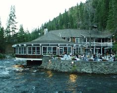 River Ranch Lodge, Tahoe City on the Truckee River.  Raft in the summer.  Great Place!