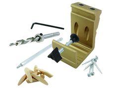 General Tools 850 E Z Pro Pocket Hole Jig Kit - - Amazon.com