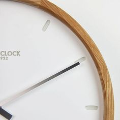 London clock Wandklok - Oslo - Hout London Clock, Tableware, Dinnerware, Tablewares, Dishes, Place Settings