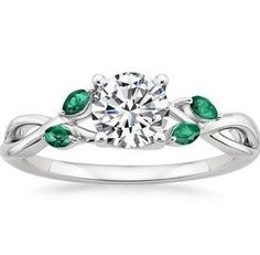 Brilliant Earth, colors, diamonds, band, jewelry, green