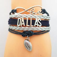 Don't Miss our Infinity Love Dallas Football BOGO Event! - Show off your teams colors! Cutest Love Dallas Football Bracelet on the Planet! Many teams available. www.DilyDalee.co