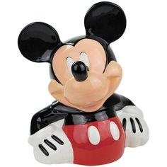 Westland Giftware Mickey Mouse Ceramic Cookie Jar, 11.25-Inch by Westland Giftware: Amazon.es: Hogar