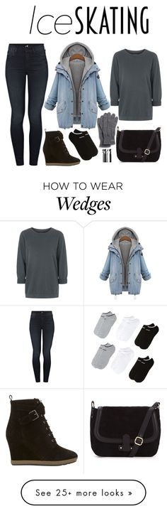 """""""Ice Skating."""" by anonymouslysleeping on Polyvore featuring Mother, adidas, Topshop, Mint Velvet and Lacoste"""