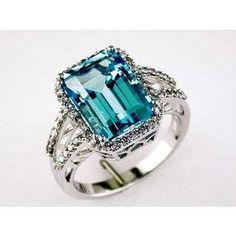 Beautiful Ladies Diamond & Blue Topaz Ring in White Gold (TCW Jewelry Box, Jewelry Rings, Jewelry Watches, Jewelry Accessories, Fine Jewelry, Do It Yourself Jewelry, Blue Topaz Ring, Love Ring, Ring Verlobung