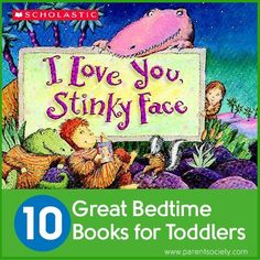 10 Great Bedtime Books for Toddlers #kids #reading #best