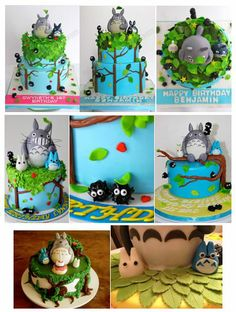 Part 1: Totoro cakes and features.