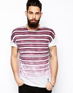 Religion Stripe T-Shirt