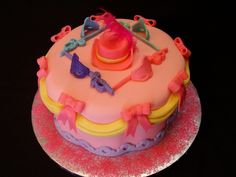 Barbie and the Three Musketeers cake
