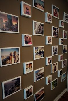 Easy DIY Gallery photo Wall