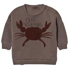 Bobo Choses-Crab Your Hands Baby Tröja | Fri frakt över 499kr!