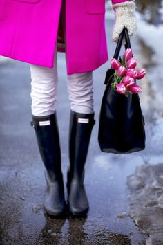 Great boots for spring weather.