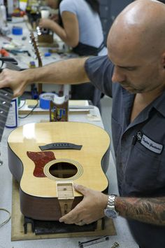 Very interesting article about how Taylor Guitars are made! It's amazing how much work goes into each guitar.