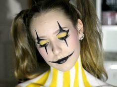Beautiful Clown Halloween Makeup Ideas