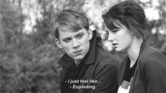 Luke and Franky Dakota Blue Richards, Joe Cole, Skins Uk, Shrink Pores, The Best Films, Healthy Skin Care, Tv Quotes, Peaky Blinders, My Heart Is Breaking