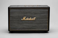 "Marshall ""Hanwell"" Speaker    COMPACT ACTIVE LOUDSPEAKER  6"" LONG THROW HIFI WOOFERS	2X  FERROFLUID COOLED HIFI DOME TWEETERS	2X  PWM AMPLIFIER	100W (COOL RUNNING)  OVER TEMPERATURE PROTECTION  FREQUENCY RESPONSE	35HZ-20KHZ +/-5DB  BASS AND TREBLE TONE CONTROLS  MAX OUTPUT	110DB SPL@1M  MAINS INPUT VOLTAGE	100-120/220-230 VAC, 50/60HZ  MAX POWER CONSUMPTION	200W  DIMENSIONS	435 X 193 X 297MM / 17.15 X 7.60 X 11.70IN  WEIGHT	10.5KG / 23LB"