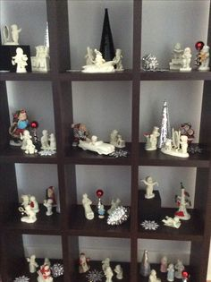 Decorating with snowbabies