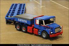 Scania T143E + Goldhofer | by legotrucks