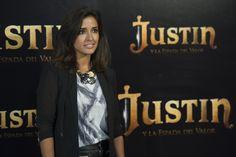 Inma Cuesta en la presentación de Justin Y La Espada Del Valor en Madrid