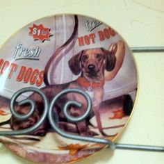 Limited edition dog plate