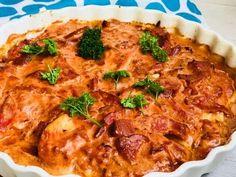 kylling med bacon og pikantost er den bedste lille hverdagshitter- Så nem Baby Food Recipes, Low Carb Recipes, Vegetarian Recipes, Chicken Recipes, Dinner Recipes, Healthy Recipes, I Love Food, Quick Meals, Macaroni And Cheese