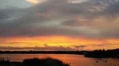Summer sunset over Green Hill Pond in Green Hill, RI.  To beautiful for words...