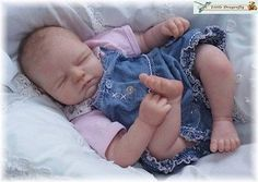 *Lisann* Reborn Doll Kit by Sabine Altenkirch Blank Vinyl Kit