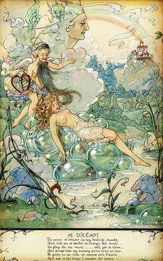 "Harold Gaze, ""A dream: The fairy sleeping"""