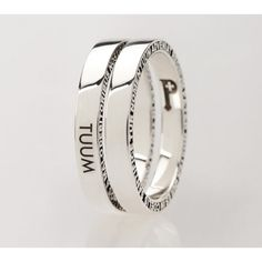 NUMERODUE ring in Silver