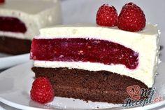 chute a vône mojej kuchyne. Czech Recipes, Russian Recipes, Sweet Recipes, Cake Recipes, Mousse Cake, Pavlova, Celebration Cakes, Baked Goods, Food Porn