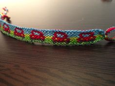 Car friendship bracelet pattern number 10194 - For more patterns and tutorials visit our web or the app!